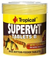 TROPICAL SUPERVIT TABLETS B 50ML/36g 200ST