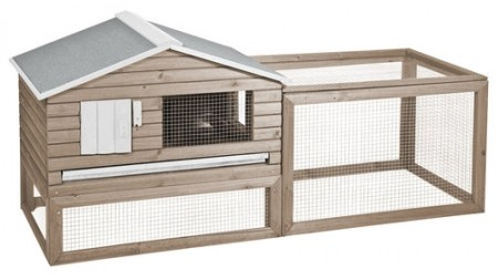 WOODLAND RABBIT HUTCH SNOOZER COTTAGE
