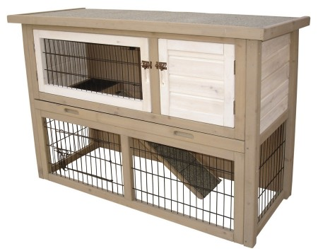 WOODLAND RABBIT HUTCH COTTON COTTAGE