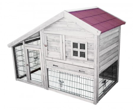 WOODLAND RABBIT HUTCH TRIDOLF COTTAGE